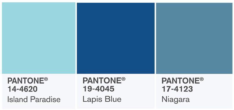 pantone blu